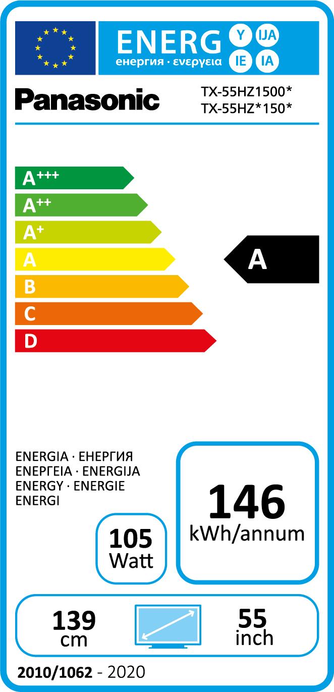 Energielabel TX-55HZT1506