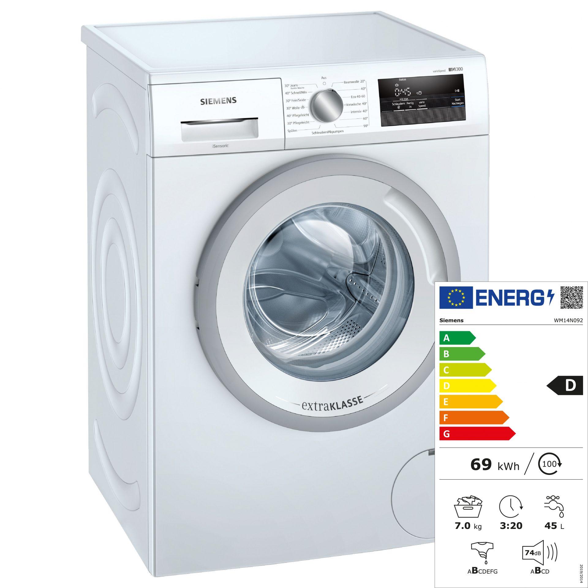 Siemens WM14N092