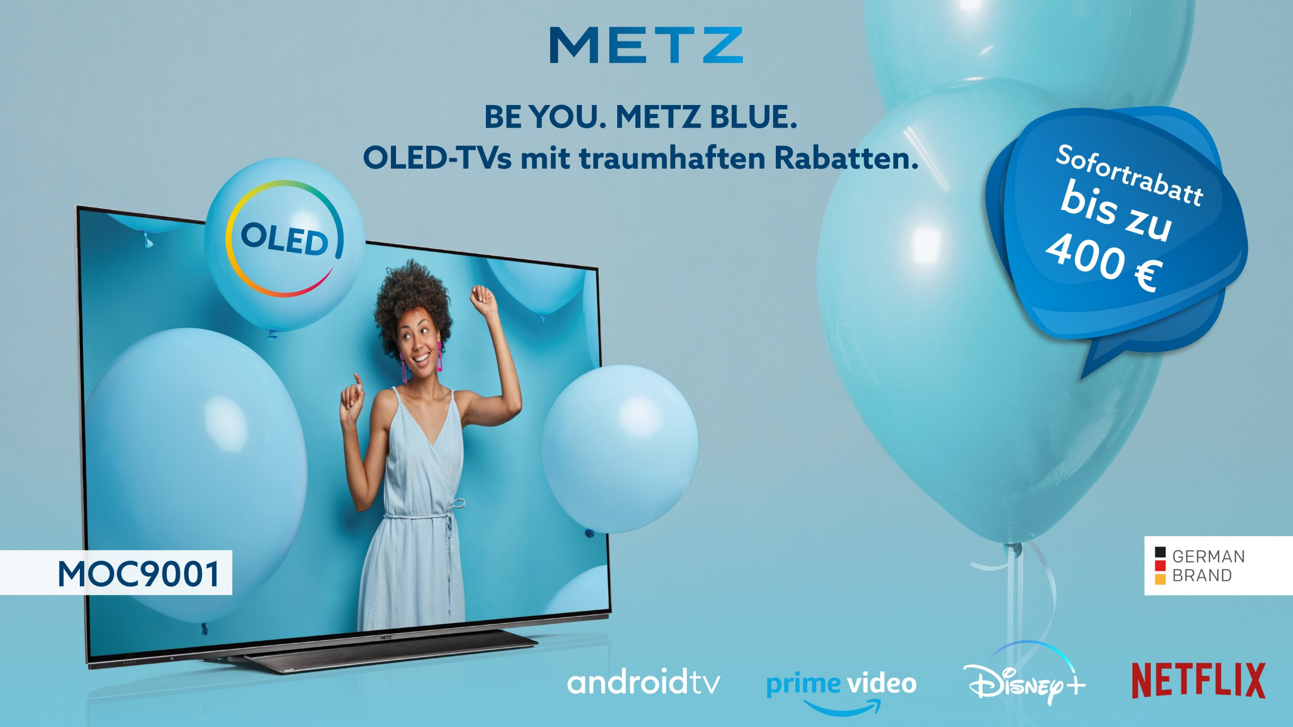 Metz blue MOC9001 Rabatt